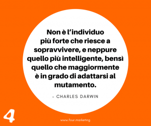 FOUR.MARKETING - CHARLES DARWIN