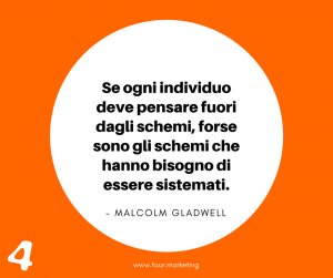 FOUR.MARKETING - MALCOLM GLADWELL